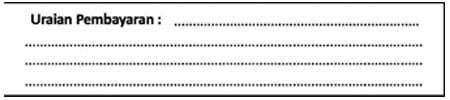 Uraian Pembayaran untuk SSP Standar (Contoh Surat Setoran Pajak) - Finansialku