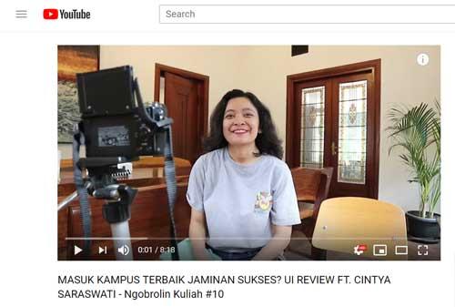Vloggers Ikuti Cara dan Tips Menambah Viewers 04 Cintya Saraswati - Finansialku