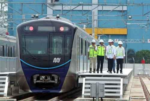 Gratis! MRT Tahap I Menjadi Pemikat Warga Jakarta 02 - MRT-2