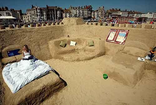 Hotel Unik Di Dunia 06 Sand Castle Hotel - Finansialku