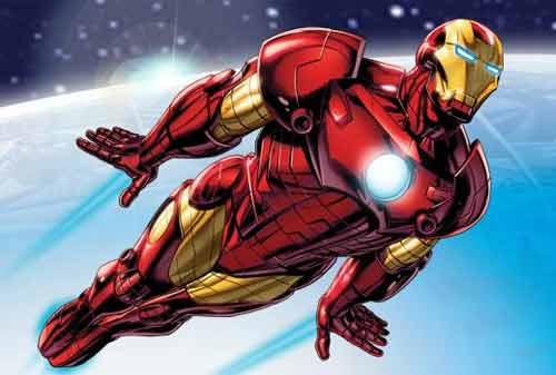 Karakter Komik Terkaya di Dunia 02 (Iron Man) - Finansialku