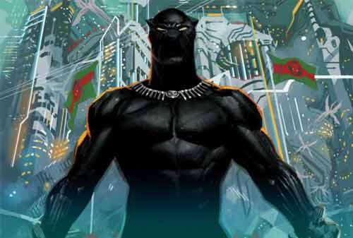 Karakter Komik Terkaya di Dunia 03 (Black Panther) - Finansialku