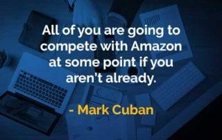 Kata-kata Bijak Mark Cuban Bersaing Dengan Amazon - Finansialku