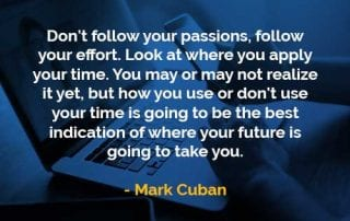 Kata-kata Bijak Mark Cuban Menerapkan Waktu Anda - Finansialku