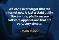 Kata-kata Bijak Mark Cuban Utilitas yang Tenang - Finansialku