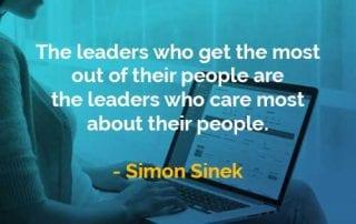 Kata-kata Bijak Simon Sinek Pemimpin yang Paling Peduli - Finansialku