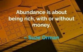 Kata-kata Motivasi Suze Orman Tentang Menjadi Kaya - Finansialku