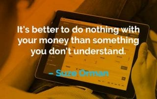 Kata-kata Motivasi Suze Orman Tidak Melakukan Apapun - Finansialku