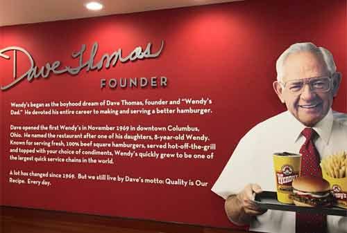 Kisah Sukses Dave Thomas, Pendiri Wendy's Fastfood 03 - Finansialku