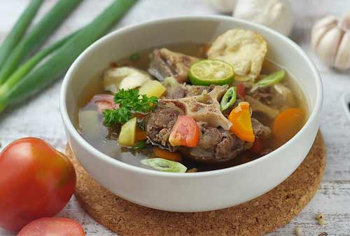 Kuliner Khas Indonesia 14 (Sop Buntut) - Finansialku