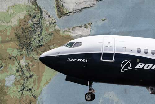 Pasca Kecelakaan Ethiopian Airlines, Indonesia Larang Terbang Pesawat Boeing 737 MAX 8 Demi Keselamatan 02 - Finansialku