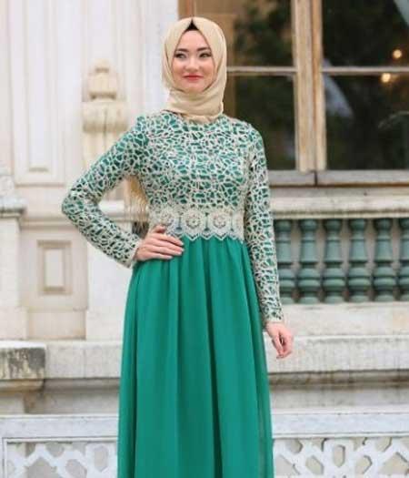 Tampil Trendy Dengan Baju Gamis Terbaru Tahun Ini 04 Gamis Sifon - Finansialku