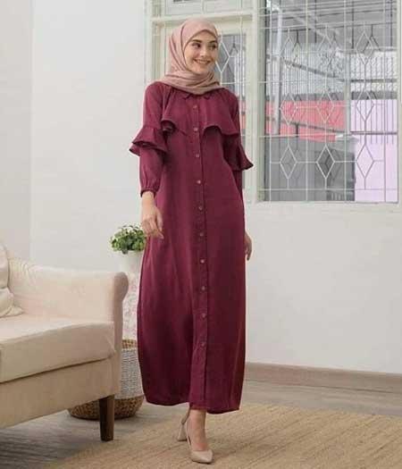 Tampil Trendy Dengan Baju Gamis Terbaru Tahun Ini 07 Gamis Casual - Finansialku