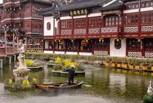 Tempat Wisata Shanghai 5 (Taman Yuyuan) - Finansialku