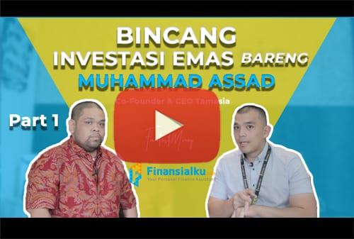 Bincang Investasi Emas Syariah Bareng Muhammad Assad Co-Founder Startup Tamasia.co.id