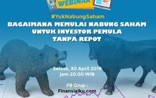 Webinar Bagaimana Nabung Saham Untuk Investor Pemula Tanpa Repot