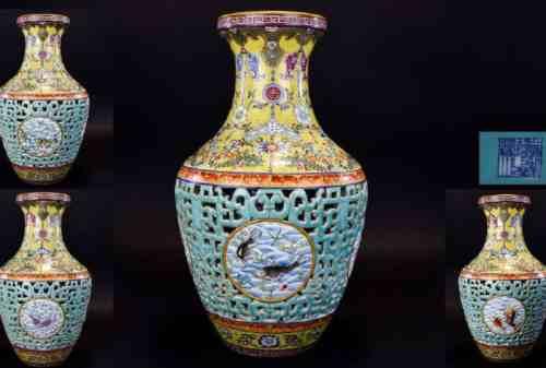 Barang Antik Termahal 06 Guci Dinasti Qing - Finansialku