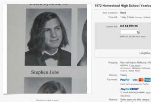 Barang Steve Jobs Ini Dijual dengan Harga Miliaran Rupiah 02 - Finansialku