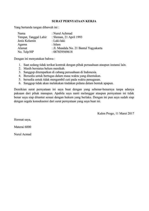 Contoh contoh surat pernyataan perjanjian perselingkuhan ...