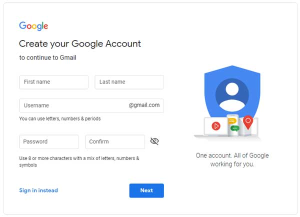Cara Daftar dan Buat Akun Google Gmail Dengan Mudah 03 - Finansialku