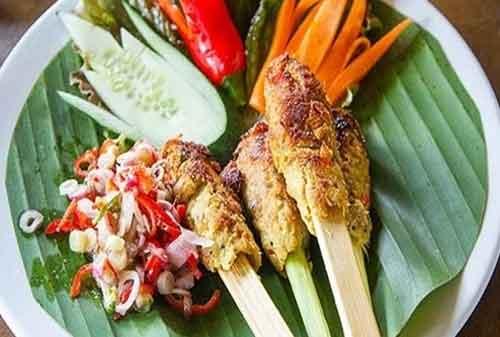 Jenis Sate Warisan Kuliner Nusantara 04 Sate Lilit - Finansialku