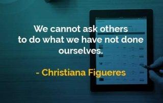 Kata-kata Bijak Christiana Figueres Meminta Orang Lain - Finansialku