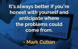 Kata-kata Bijak Mark Cuban Jujur Pada Diri Sendiri - Finansialku