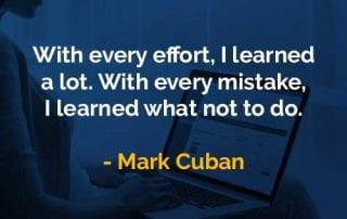 Kata-kata Bijak Mark Cuban Saya Belajar Banyak - Finansialku