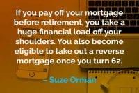 Kata-kata Motivasi Suze Orman Melunasi Hipotek Sebelum Pensiun - Finansialku