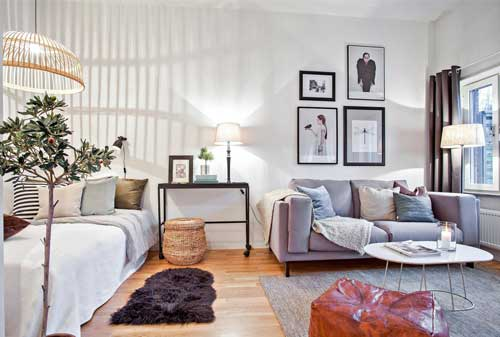 Miliki 5+ Perabot Untuk Apartemen Studio, Bikin Betah Tinggal! 02 Interior Apartemen 2 - Finansialku
