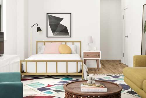 Miliki 5+ Perabot Untuk Apartemen Studio, Bikin Betah Tinggal! 03 Interior Apartemen 3 - Finansialku