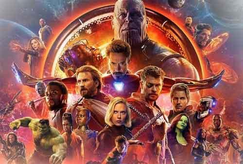 7 Film Marvel Terlaris yang Menghasilkan Pendapatan Triliunan 02 Avengers Infinity War - Finansialku
