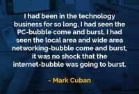 Kata-kata Bijak Mark Cuban Berkecimpung Dalam Bisnis Teknologi - Finansialku