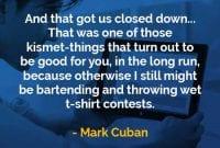 Kata-kata Bijak Mark Cuban Membuat Kami Tutup - Finansialku