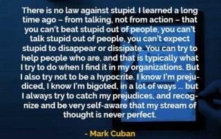 Kata-kata Bijak Mark Cuban Menentang Kebodohan - Finansialku