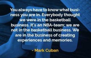 Kata-kata Bijak Mark Cuban Tahu Bisnis Apa yang Anda Jalani - Finansialku