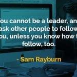 Kata-kata Bijak Sam Rayburn Meminta Orang Lain untuk Mengikuti Anda - Finansialku