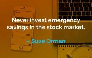 Kata-kata Motivasi Suze Orman Berinvestasi Untuk Dana Darurat - Finansialku