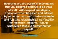Kata-kata Motivasi Suze Orman Layak Mendapatkan Cinta - Finansialku