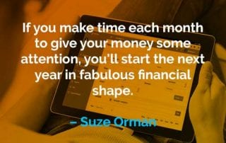 Kata-kata Motivasi Suze Orman Meluangkan Waktu Setiap Bulan - Finansialku