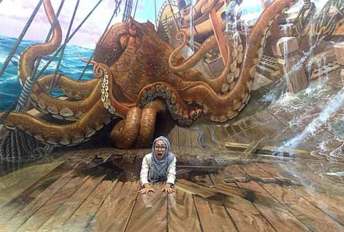 Wisata Selfie 02 (Amazing Art World 3D Bandung) - Finansialku