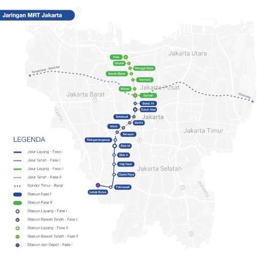 Yey MRT Jakarta Sudah Beroperasi! Ketahui Tarif dan Cara Beli Tiketnya 02 - Finansialku