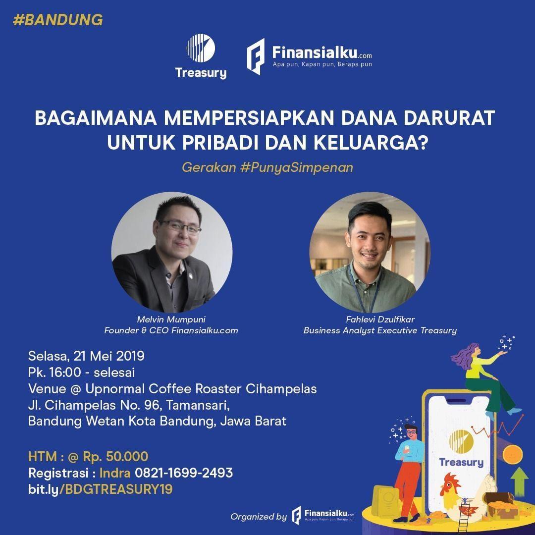 Event Finansialku x Treasury Bandung 2019