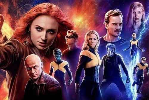 10 Film Franchise Tersukses Dunia Dengan Pendapatan Tinggi 06 X-Men - Finansialku