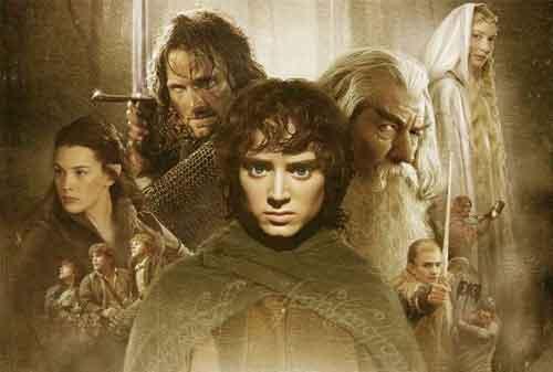 10 Film Franchise Tersukses Dunia Dengan Pendapatan Tinggi 07 Lord Of The Rings - Finansialku