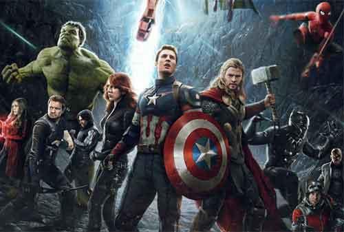 10 Film Franchise Tersukses Dunia Dengan Pendapatan Tinggi 11 Marvel Cinematic Universe - Finansialku