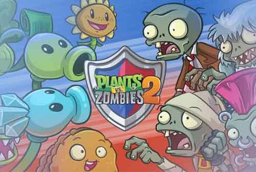 10 Rekomendasi Games Offline Android yang Seru dan Paling Menarik 08 Plants Vs Zombies 2 - Finansialku