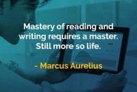 Kata-kata Bijak Marcus Aurelius Penguasaan Membaca dan Menulis - Finansialku