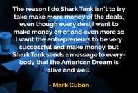 Kata-kata Bijak Mark Cuban Melakukan Shark Tank - Finansialku
