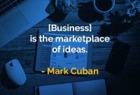 Kata-kata Bijak Mark Cuban Pasar Ide - Finansialku